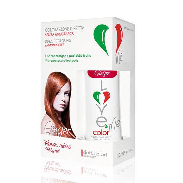 Love Me Color Ginger Rosso Rubino Dott Solari