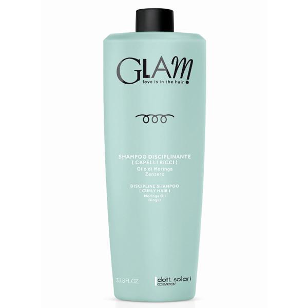 Glam Shampoo Disciplinante Capelli Ricci 1000 Ml Dott Solari